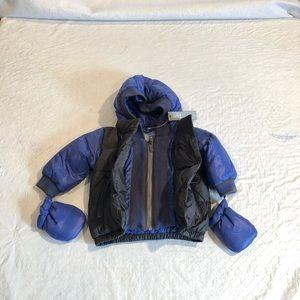 ADD DOWN**Baby Boy extra Warm Down Coat*6 Mo. $228